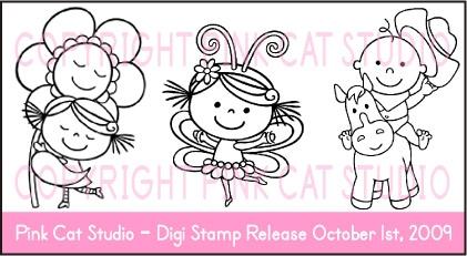 Pink Cat Digi release